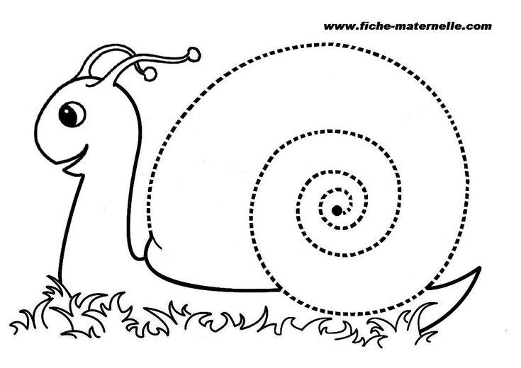 Apprendre à tracer des spirales au feutre velléda ou avec la pâte à modeler