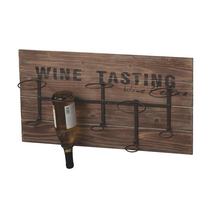 Tasting Wall Wine Rack