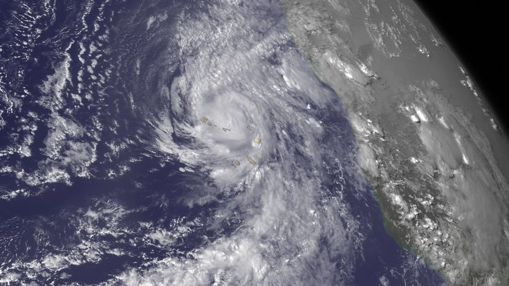 "Hurricane Fred Lashes the Cape Verde Islands | Hurricane Fred Islands. National Hurricane Center's Hurricane Fred Forecast Discussion: ""Atlantic tropical cyclonethe first hurricane to pass This image was taken by GOES East on August 31, 2015. Credit: NASA/NOAA via  NOAA Environmental Visualization Laboratory NASA image use policy NASA Goddard Space Flight Center enables NASA's mission four scientific endeavors: Earth Science, Heliophysics, Solar System Exploration, and Astrophysics"