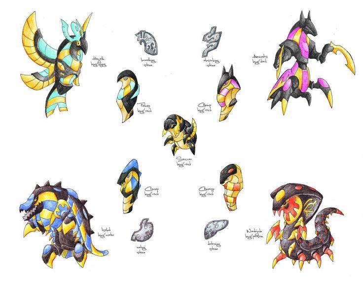 146 best fakemon images on Pinterest Pokemon fake, Pokemon pokedex - new pokemon coloring pages krookodile