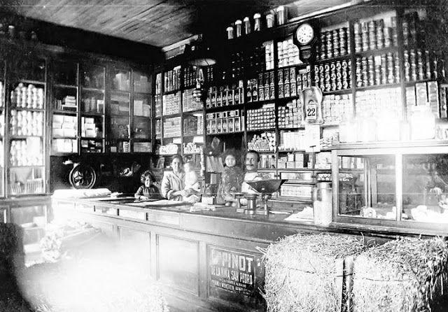 Emporio Santa Catalina, Cerro Los placeres, Año 1918                                                                   Fuente:  Imágenes de Chile del 1900