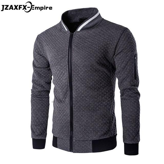Limited Offer $20.99, Buy Men's Hoodies Zipper Design Mens Jacket Coat O Neck High Quality Mens Autumn Sweatshirt Brand-Clothing Hoodies men 2017 New