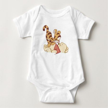 Young Winnie the Pooh Baby Bodysuit - tap to personalize and get yours