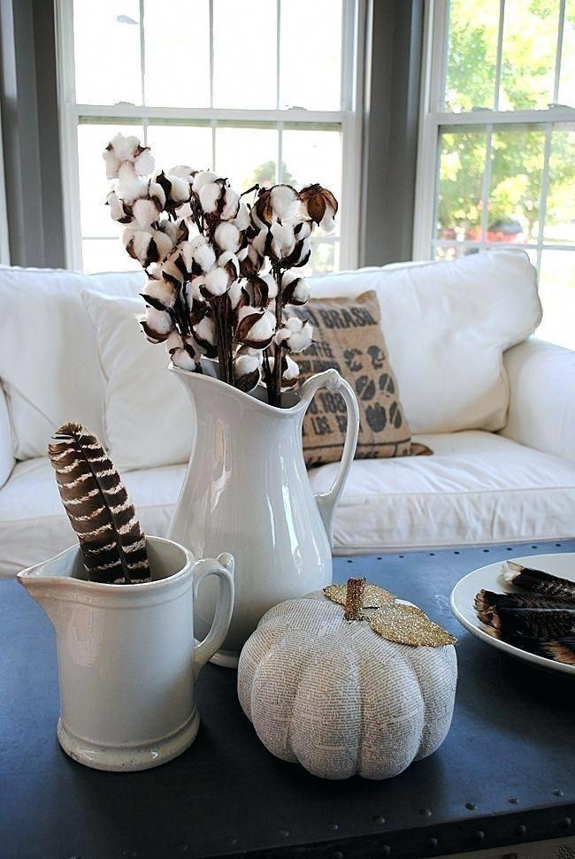 Fall Home Decor Love Autumn Pinterest House Tour  – Home Decor DIY Living Room B…