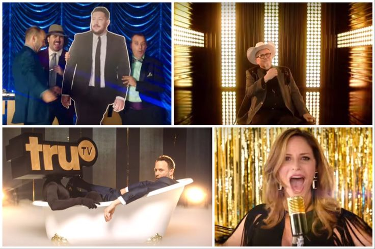 The 2016 TruTV promos with Jon Glaser, the Impractical Jokers, Andrea Savage, Bobcat Goldthwait, and many more!