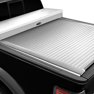Truck Covers USA CRT103-WHITE - American Work Tool Box Retractable Tonneau Cover