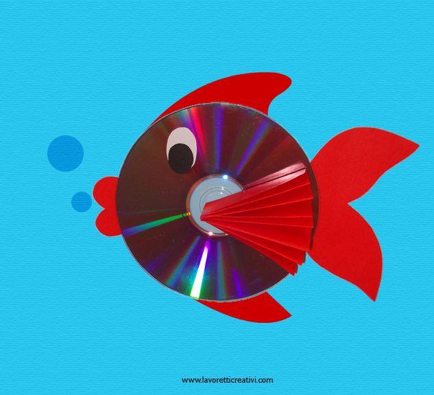 Realizzare un pesce con il CD