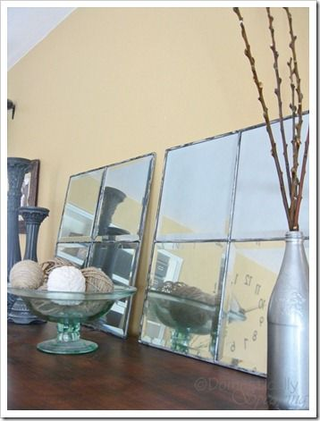 DIY:: Mirrors (so easy & I love these !)