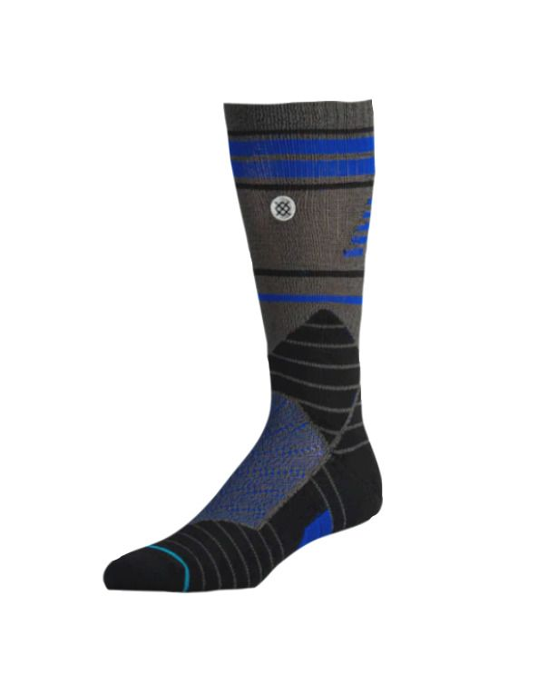 f72391dc0cea5 NEW BALANCE x STANCE Men's Fusion Turf Baseball Crew Blue Black Socks L 9-12  NEW #Stance #CrewHeight