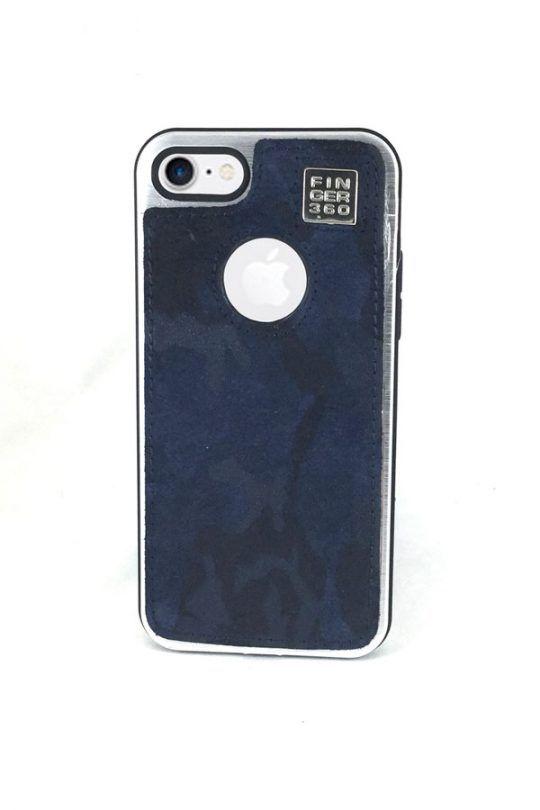 #carcasa #iphone7 #camuflaje #piel #bovino #azul