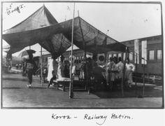 Korea - Railway Station. ca 1910-1920, Frank Carpenter. Library of Congress