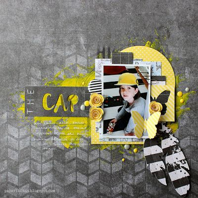 Cap by Riikka Kovasin for Sizzix