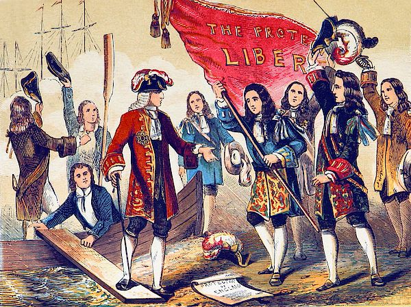 The Glorious Revolution, also called the Revolution of 1688, was the overthrow of King James II of England (James VII of Scotland and James II of Ireland) by a union of English Parliamentarians with the Dutch stadtholder William III of Orange-Nassau (William of Orange).