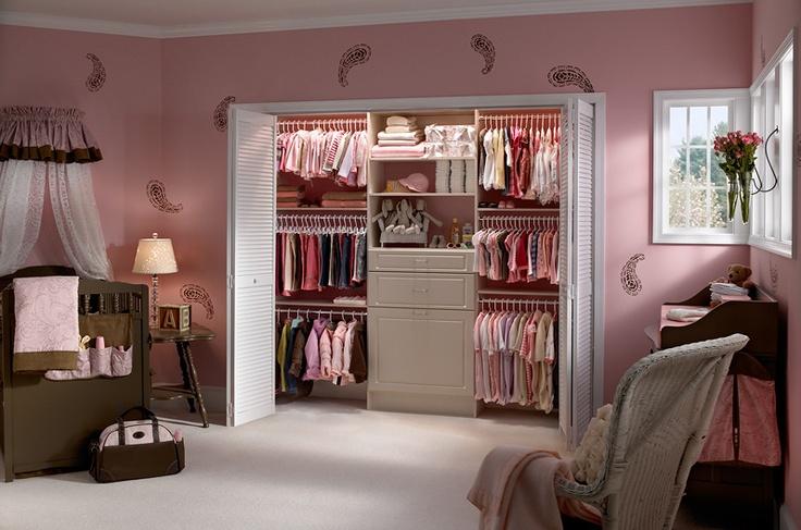 Closet Design for the Kid's closets
