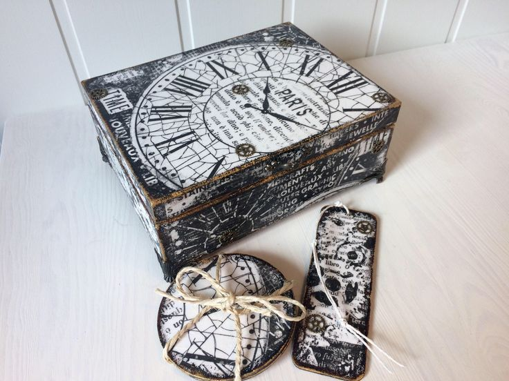 A personal favourite from my Etsy shop https://www.etsy.com/no-en/listing/541853052/antique-rustic-decoupage-wooden-tea-box