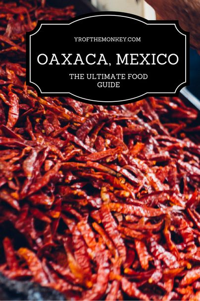 Oaxaca city Mexico is a food lover's dream come true. Read this post for the ultimate food guide to Mexico's food capital which has dining options for every budget and palate. Fine dining, cafes, markets, moles, chocolates, cheese and so much more to discover with yummy photos that will make you drool!