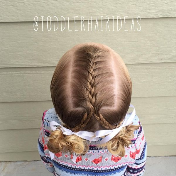 Beautiful hairstyles for girls in the garden – everyday and festive choices