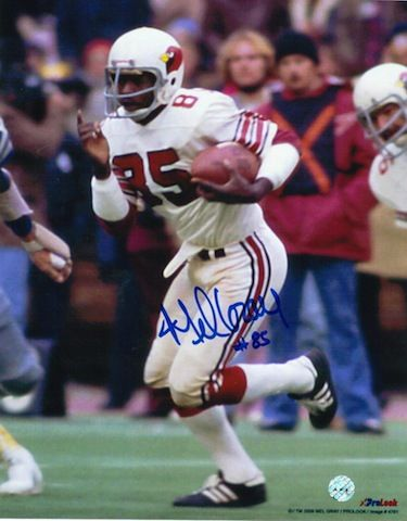Autographed Mel Gray St. Louis Cardinals (Football) 8x10 Photo