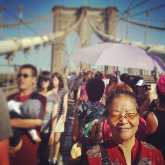 #brooklynbridge #newyork #travelbyphone #emilijagasic colorful nyc :)