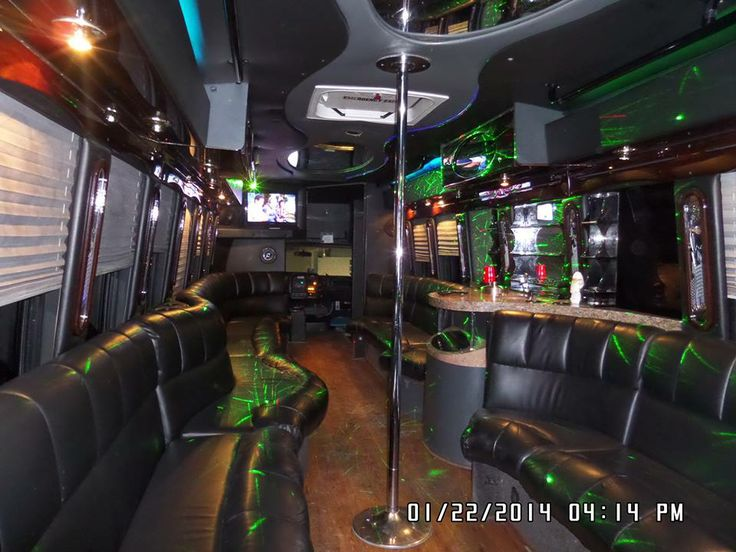 7 Best Party Buses With Stripper Poles Images On Pinterest