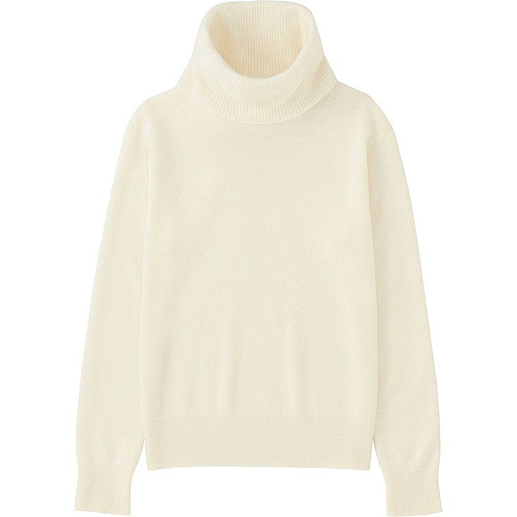 WOMEN Cashmere Turtle Neck Sweater