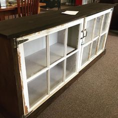 Current project. Old window cabinet custom build. Staring with some…