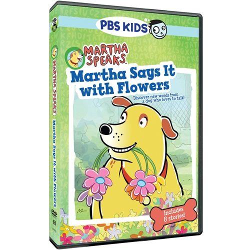 Martha Speaks Martha Says it with Flowers DVD