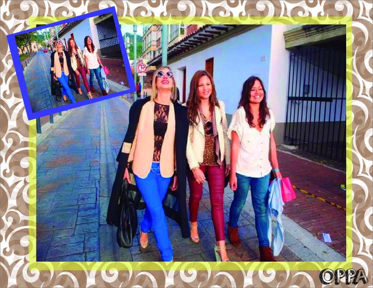 Explosión de color: pasando por pantalones que van desde el azul hasta un color vino tinto y jean, para los superiores blusas en blancos, blazer en beige, estampados en animal print y siempre el negro primando en las chaquetas y zapatos colores tierras tales como : cafe, beige y tonos cremas.