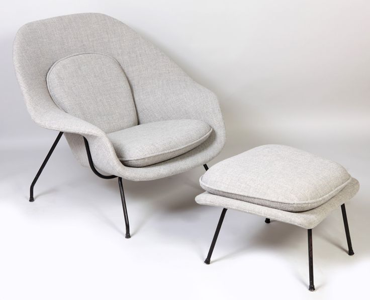 :: Fauteuil « Womb chair », 1948, Eero Saarinen ::