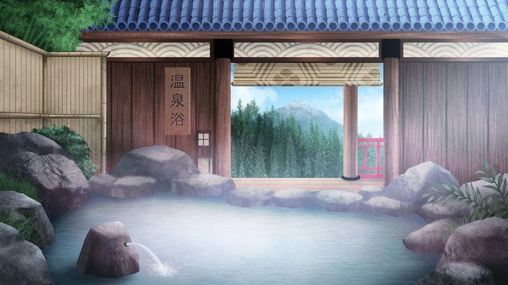 Onsen bath – visual novel BG by gin-1994 on Devian…