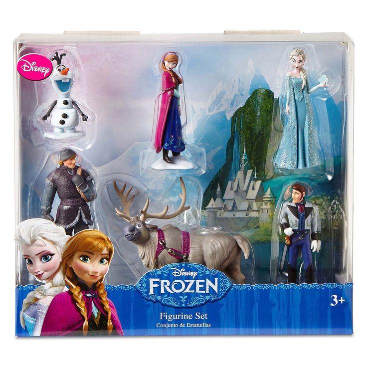 Amazon.com: Disney Frozen 6 pc Figurine Figure Set Sven, Hans, Anna, Elsa, Kristoff and Olaf: Toys & Games