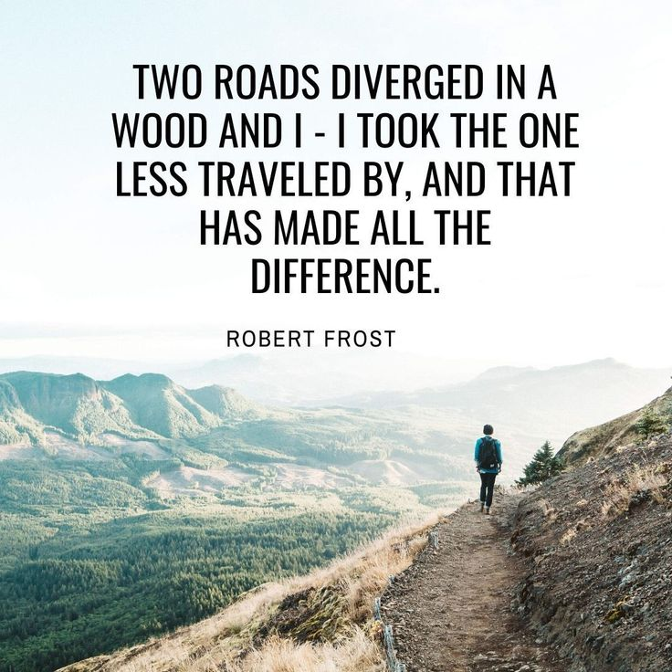 Explore less traveled path | inspirational quotes for ...