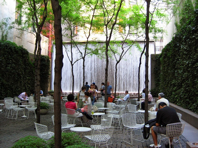inspiration = a perfect urban pocket garden: paley park - midtown NYC by starberrysweet