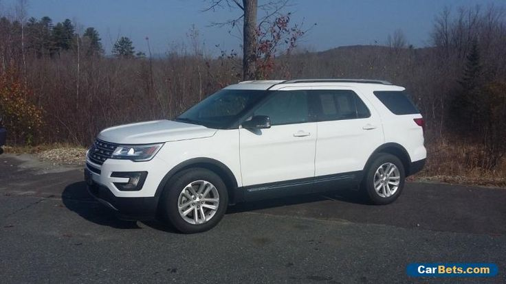 Ford Explorer XLT Sport Utility 4-Door #ford #explorer #forsale #unitedstates