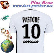 Plus Beau Maillot Club De Foot PSG (PASTORE 10) Third Saison 16 17 A Personnaliser