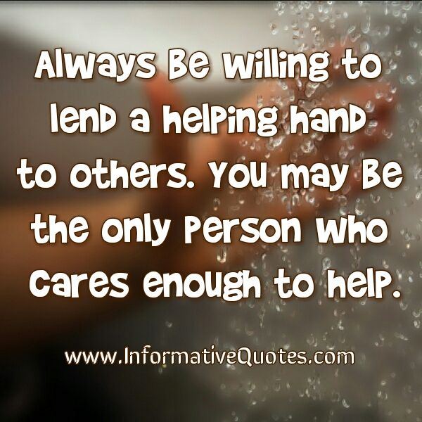 Help Quotes Adorable The 25 Best Helping Hands Quotes Ideas On Pinterest  Community