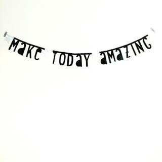 #Wordbanner #tip: Make today amazing - Buy it at www.vanmariel.nl - € 11,95