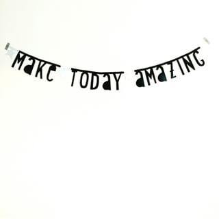 #Wordbanner #tip: Make today amazing - Buy it at www.vanmariel.nl - € 11,95