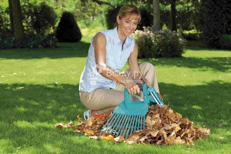 Сбор опавших листьев и закладка листового перегноя