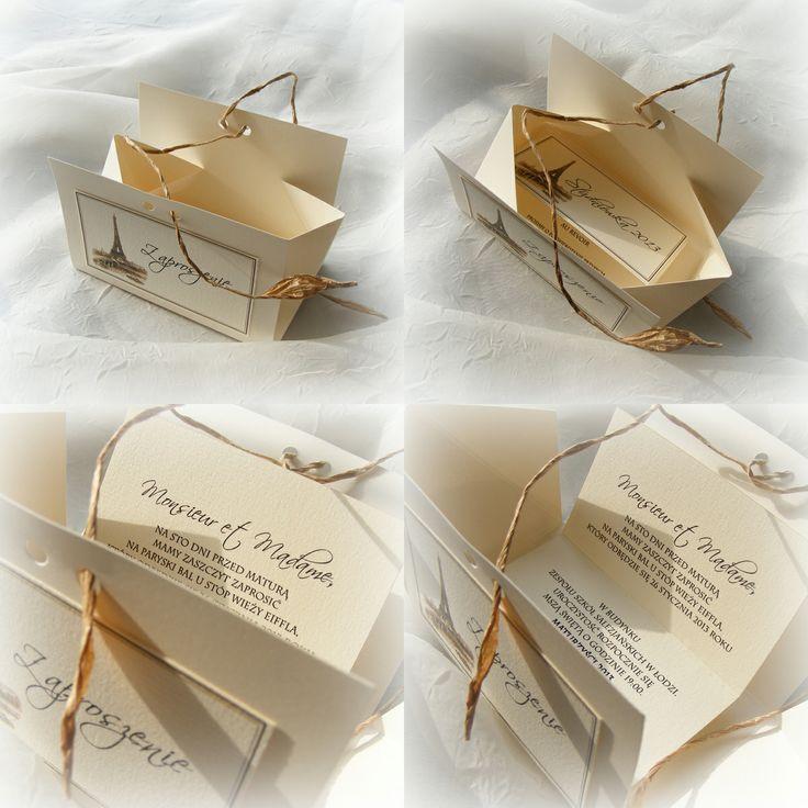 zaproszenie-pudełeczko pudełeczko-zaproszenie