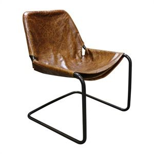 Max Chair Tan Leather Was $715