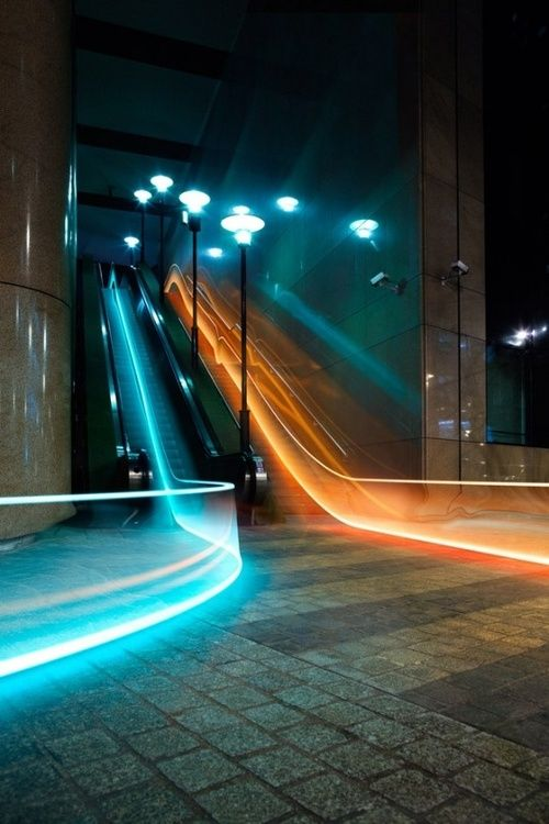 This is cool. something a little different to the usual light trails