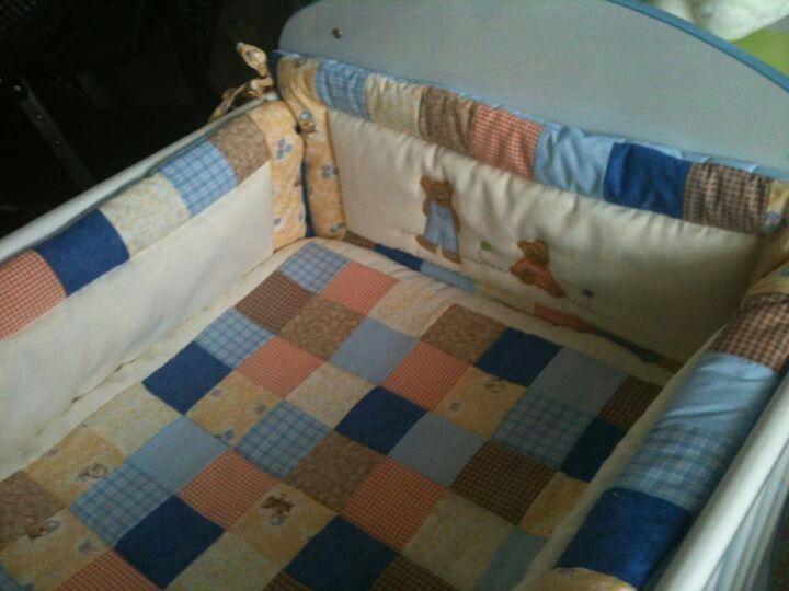 Cobertor y chichonera de bebe
