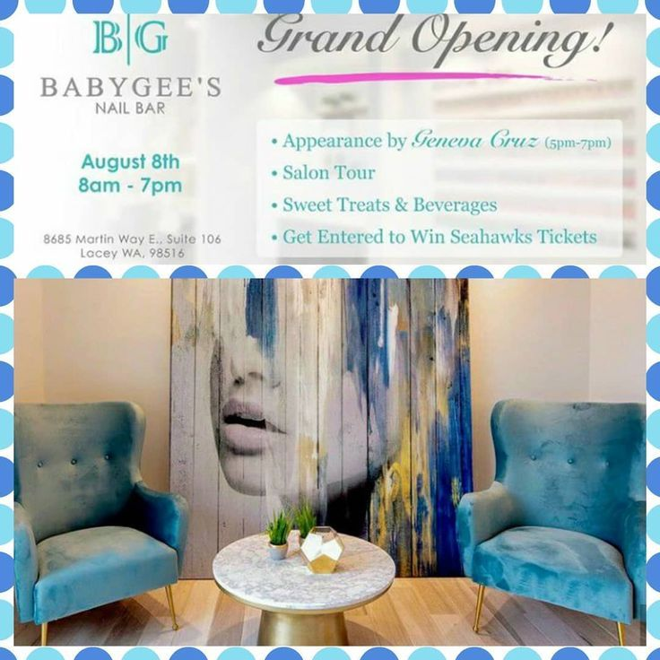 Come Support The Grand Opening Of My Friend S Nai Beauty Beautysalon Nails Nailsalon Salon Spa Supportlocal Arch Brows Grand Opening Nail Salon