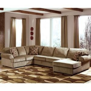 Nebraska Furniture Mart Ashley Casual 3 Piece Sectional