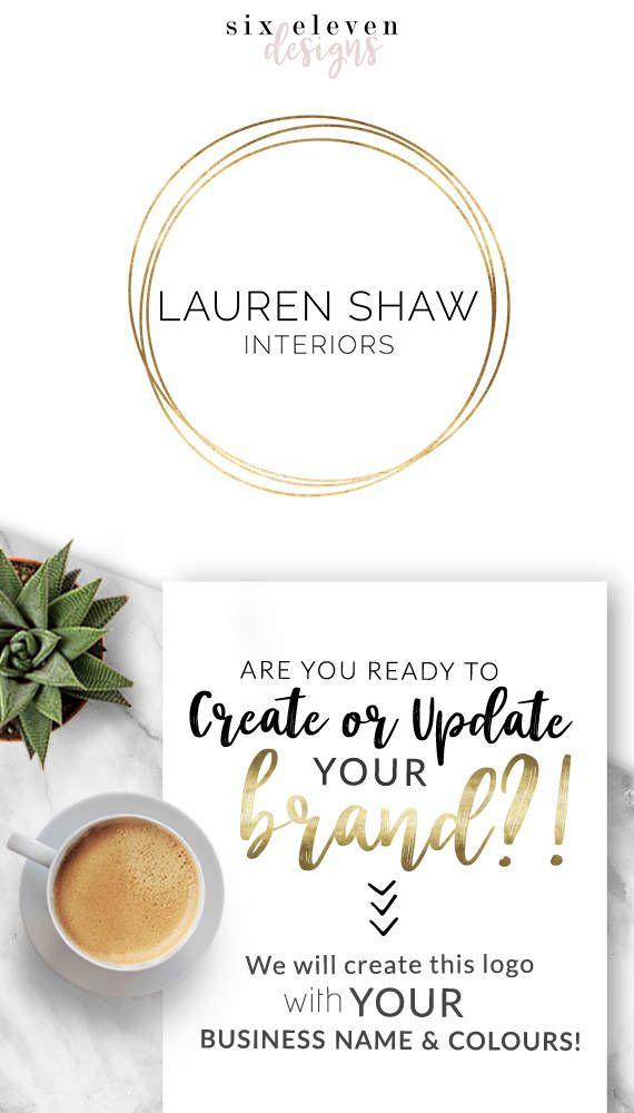 256  Lauren Shaw LOGO Premade Logo Design Branding Blog, Logo Design, Premade Logo, Branding, Blog Header, Business Logo, Photography, Boutique, Shop, Jewellery, Website,