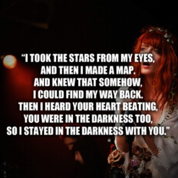 Florence and the machine...one of the most bittersweet ...