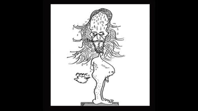 Tornillo, el majara advenedizo. by Martín B.. Primera aparición estelar de Tornillo, la cosa de la cloaca.