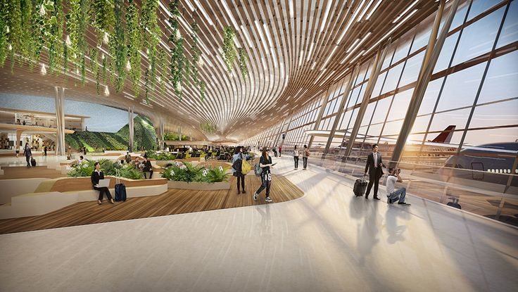 Gallery - UNStudio Proposes User-Centric Design for the Taiwan Taoyuan International Airport - 11