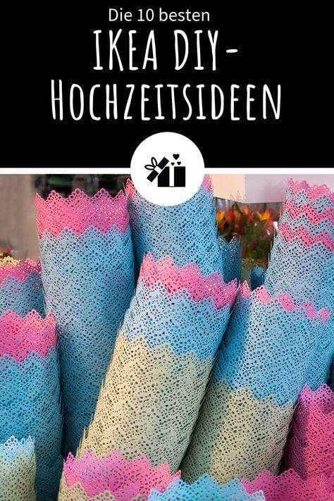 Die 10 Besten Ikea Diy Hochzeitsideen Doen Dit Net Wedding Diy